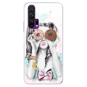 Silikonové pouzdro iSaprio - Donuts 10 na mobil Honor 20 Pro