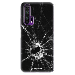 Silikonové pouzdro iSaprio - Broken Glass 10 na mobil Honor 20 Pro