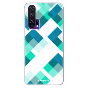 Silikonové pouzdro iSaprio - Abstract Squares 11 na mobil Honor 20 Pro