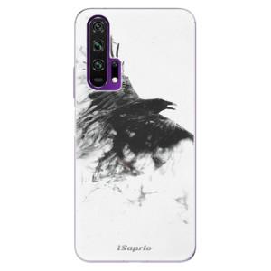 Silikonové pouzdro iSaprio - Dark Bird 01 na mobil Honor 20 Pro