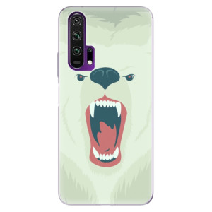 Silikonové pouzdro iSaprio - Angry Bear na mobil Honor 20 Pro