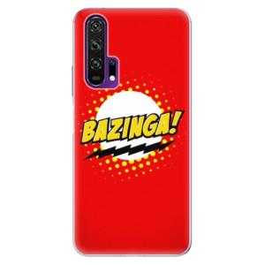 Silikonové pouzdro iSaprio - Bazinga 01 na mobil Honor 20 Pro