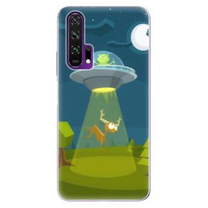 Silikonové pouzdro iSaprio - Alien 01 na mobil Honor 20 Pro