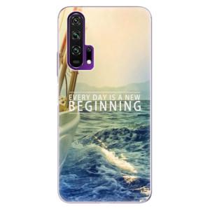 Silikonové pouzdro iSaprio - Beginning na mobil Honor 20 Pro