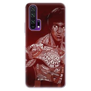 Silikonové pouzdro iSaprio - Bruce Lee na mobil Honor 20 Pro