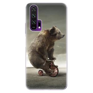 Silikonové pouzdro iSaprio - Bear 01 na mobil Honor 20 Pro