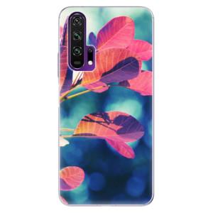 Silikonové pouzdro iSaprio - Autumn 01 na mobil Honor 20 Pro
