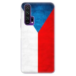 Silikonové pouzdro iSaprio - Czech Flag na mobil Honor 20 Pro