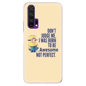 Silikonové pouzdro iSaprio - Be Awesome na mobil Honor 20 Pro