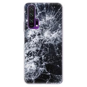 Silikonové pouzdro iSaprio - Cracked na mobil Honor 20 Pro