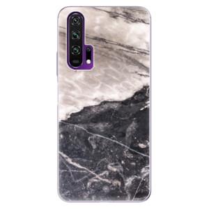 Silikonové pouzdro iSaprio - BW Marble na mobil Honor 20 Pro