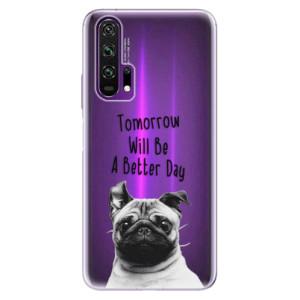 Silikonové pouzdro iSaprio - Better Day 01 na mobil Honor 20 Pro