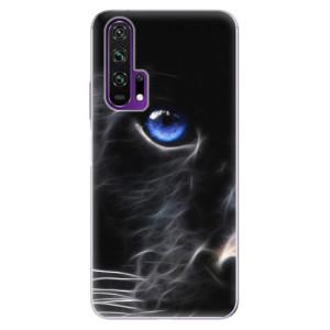 Silikonové pouzdro iSaprio - Black Puma na mobil Honor 20 Pro