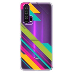 Silikonové pouzdro iSaprio - Color Stripes 03 na mobil Honor 20 Pro