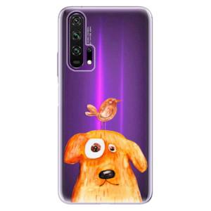 Silikonové pouzdro iSaprio - Dog And Bird na mobil Honor 20 Pro