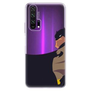 Silikonové pouzdro iSaprio - BaT Comics na mobil Honor 20 Pro