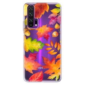 Silikonové pouzdro iSaprio - Autumn Leaves 01 na mobil Honor 20 Pro