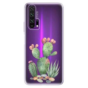 Silikonové pouzdro iSaprio - Cacti 01 na mobil Honor 20 Pro