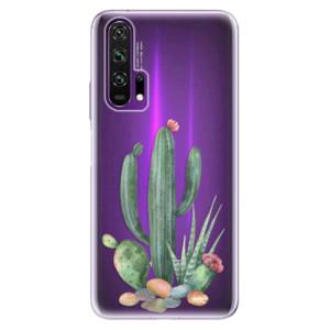Silikonové pouzdro iSaprio - Cacti 02 na mobil Honor 20 Pro
