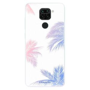 Silikonové pouzdro iSaprio - Digital Palms 10 na mobil Xiaomi Redmi Note 9