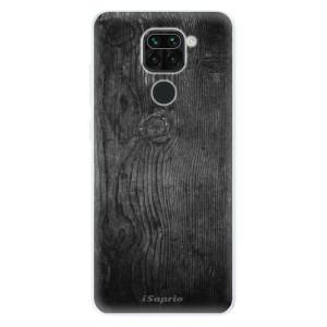 Silikonové pouzdro iSaprio - Black Wood 13 na mobil Xiaomi Redmi Note 9