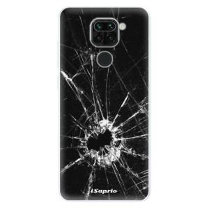 Silikonové pouzdro iSaprio - Broken Glass 10 na mobil Xiaomi Redmi Note 9