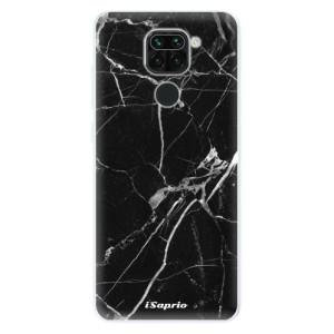 Silikonové pouzdro iSaprio - Black Marble 18 na mobil Xiaomi Redmi Note 9