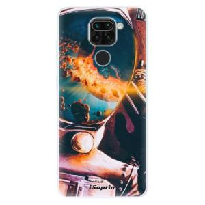 Silikonové pouzdro iSaprio - Astronaut 01 na mobil Xiaomi Redmi Note 9