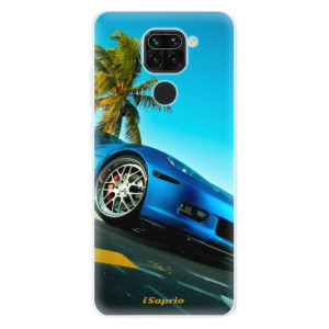 Silikonové pouzdro iSaprio - Car 10 na mobil Xiaomi Redmi Note 9