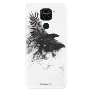 Silikonové pouzdro iSaprio - Dark Bird 01 na mobil Xiaomi Redmi Note 9
