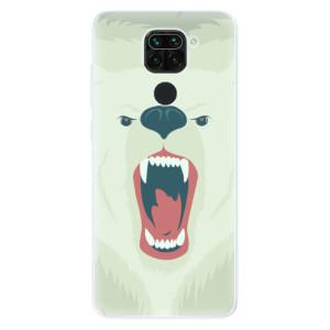 Silikonové pouzdro iSaprio - Angry Bear na mobil Xiaomi Redmi Note 9