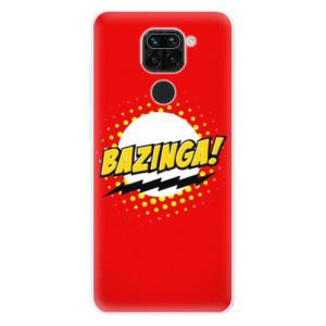Silikonové pouzdro iSaprio - Bazinga 01 na mobil Xiaomi Redmi Note 9