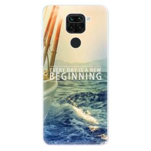Silikonové pouzdro iSaprio - Beginning na mobil Xiaomi Redmi Note 9