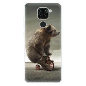 Silikonové pouzdro iSaprio - Bear 01 na mobil Xiaomi Redmi Note 9
