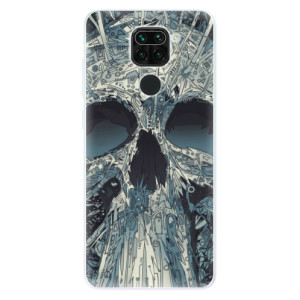 Silikonové pouzdro iSaprio - Abstract Skull na mobil Xiaomi Redmi Note 9