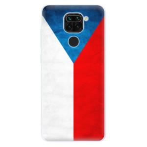 Silikonové pouzdro iSaprio - Czech Flag na mobil Xiaomi Redmi Note 9