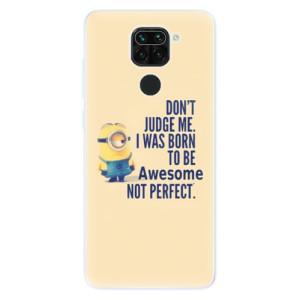 Silikonové pouzdro iSaprio - Be Awesome na mobil Xiaomi Redmi Note 9