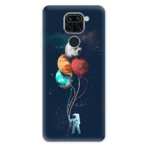 Silikonové pouzdro iSaprio - Balloons 02 na mobil Xiaomi Redmi Note 9