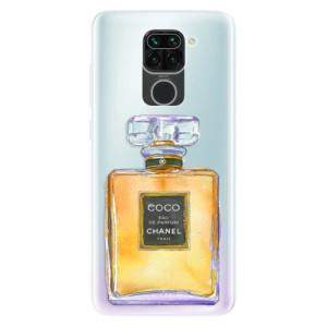 Silikonové pouzdro iSaprio - Chanel Gold na mobil Xiaomi Redmi Note 9