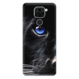 Silikonové pouzdro iSaprio - Black Puma na mobil Xiaomi Redmi Note 9
