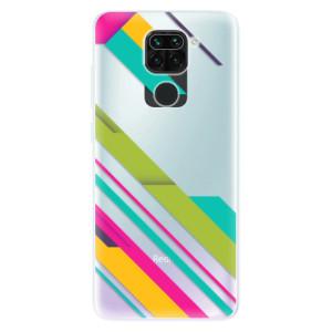 Silikonové pouzdro iSaprio - Color Stripes 03 na mobil Xiaomi Redmi Note 9
