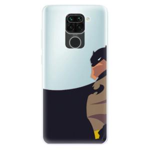 Silikonové pouzdro iSaprio - BaT Comics na mobil Xiaomi Redmi Note 9