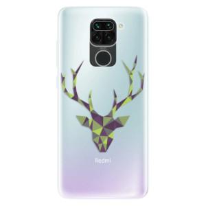 Silikonové pouzdro iSaprio - Deer Green na mobil Xiaomi Redmi Note 9