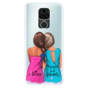 Silikonové pouzdro iSaprio - Best Friends na mobil Xiaomi Redmi Note 9