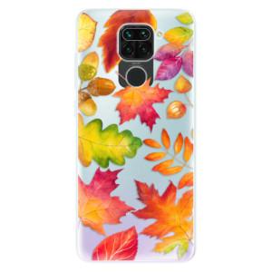 Silikonové pouzdro iSaprio - Autumn Leaves 01 na mobil Xiaomi Redmi Note 9