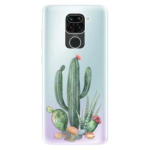 Silikonové pouzdro iSaprio - Cacti 02 na mobil Xiaomi Redmi Note 9