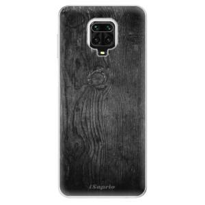 Silikonové pouzdro iSaprio - Black Wood 13 na mobil Xiaomi Redmi Note 9 Pro / Xiaomi Redmi Note 9S