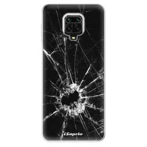 Silikonové pouzdro iSaprio - Broken Glass 10 na mobil Xiaomi Redmi Note 9 Pro / Xiaomi Redmi Note 9S