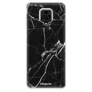 Silikonové pouzdro iSaprio - Black Marble 18 na mobil Xiaomi Redmi Note 9 Pro / Xiaomi Redmi Note 9S