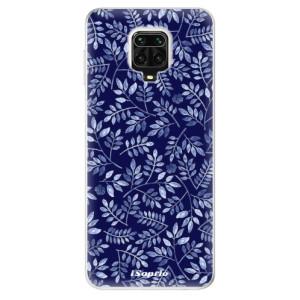 Silikonové pouzdro iSaprio - Blue Leaves 05 na mobil Xiaomi Redmi Note 9 Pro / Xiaomi Redmi Note 9S